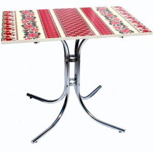 Кухонный стол «Петриковская роспись» / для кухни - купить!