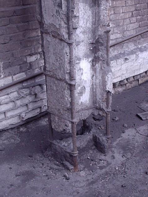 Восстановлении железобетонных и металлических конструкций