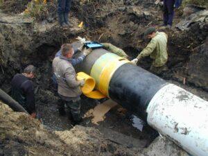 Восстановление гидроизоляции трубопроводов - заказать в Киеве