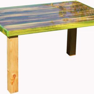 Декоративный стол «Свежая зелень»