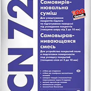 Купить самовыравнивающую смесь Ceresit CN 72